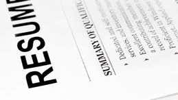 Tips on crafting a good resume