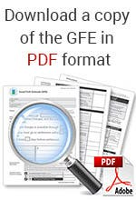 Download a copy of the GFE © Bigstock