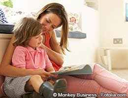 Surround children with written and spoken language