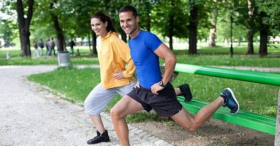 Ditch the gym, take it outside © berc / Fotolia
