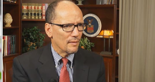 Interview: Secretary of Labor Thomas Perez