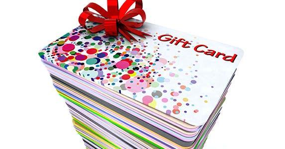 Go overboard with gift cards © Fabio Berti/Shutterstock.com