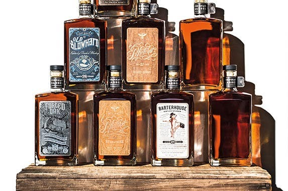 'Orphan Barrel' tour and bourbons | Photo courtesy of Neiman Marcus
