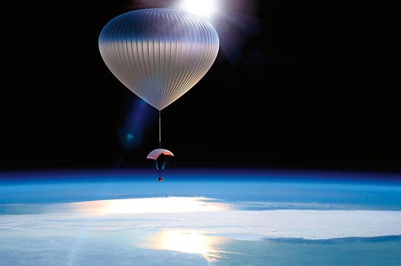 Out-of-this-world balloon experience | Photo courtesy of Neiman Marcus