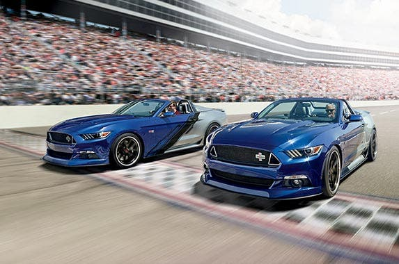 Limited-edition Mustang convertible | Photo courtesy of Neiman Marcus