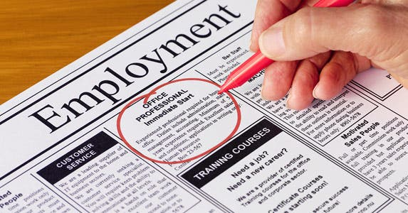 Job ads are still important, too © iStock