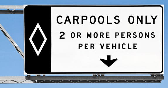 I took carpooling for a test-drive © iStock