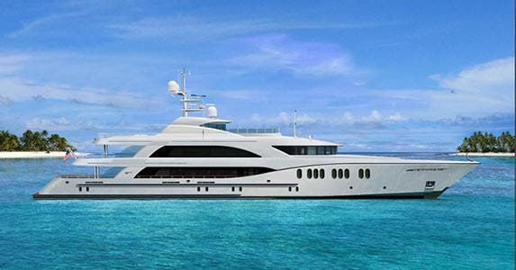 Trinity tri-deck yacht | Photo courtesy of Trinity Yachts