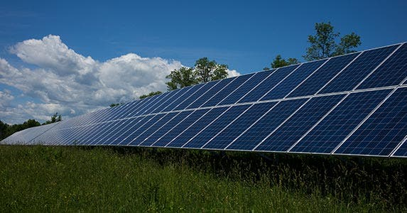 Climate change and solar energy | Robert Nickelsberg/Getty Images