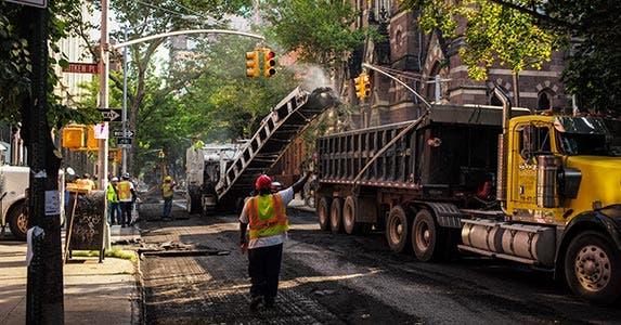Build new roads and bridges | Robert Nickelsberg/Getty Images