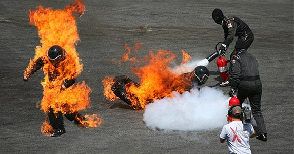 Stunt person © Mayskyphoto/Shutterstock.com