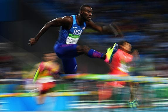 Kerron Clement | Quinn Rooney/Getty Images