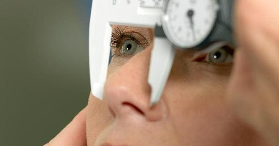 Woman getting nose measured for surgery | Jonatan Fernstrom/Getty Images