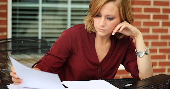 Read your credit report like a lender © Charlotte Purdy/Shutterstock.com