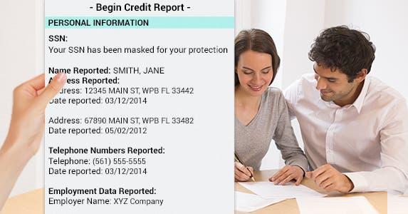 Check your ID | Hand: © Artem Furman/Shutterstock.com, Couple filling out form: © Ldprod/Shutterstock.com