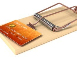 Credit card traps