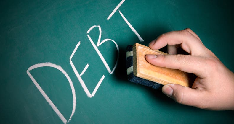 when does old debt fall off my credit report