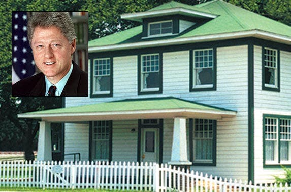 Bill Clinton | The White House; House: National Park Service