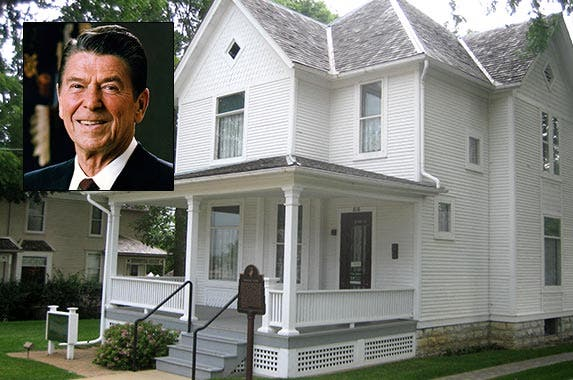 Ronald Reagan | The White House; House: Ronald Reagan Boyhood Home & Visitors Center