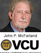 John P. McFarland, Virginia Commonwealth University
