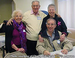History of NORCs © Photo courtesy of Cherry Hill Senior LIFE program