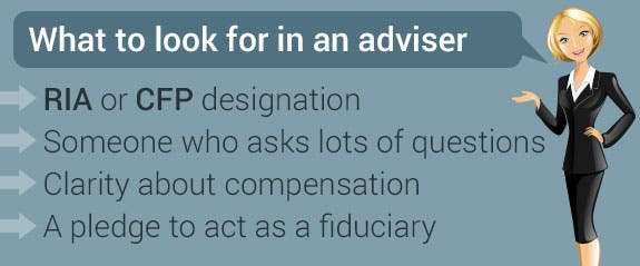 What to look for in an adviser © Neda Sadreddi/Shutterstock.com