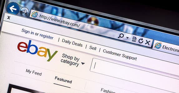 EBay and switch © Ingvar Bjork/Shutterstock.com