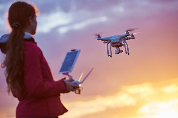 Drone and a 2-hour pilot lesson © Dmitry Kalinovsky/Shutterstock.com