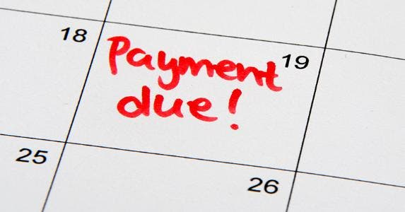 Payment due © Marcee Stachel-Williamson/Shutterstock.com