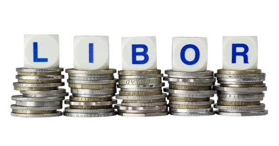 LIBOR on coin stacks © Lim Yong Hian/Shutterstock.com
