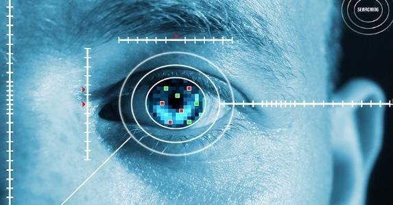 Retinal scan © iStock