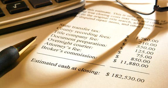 What are the closing costs? © iStock