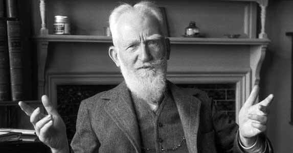 George Bernard Shaw © E.O. Hoppé/Corbis