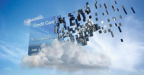 Credit card cloud data concept | Colin Anderson/Blend Images/Getty Images