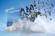 Credit card cloud data concept   Colin Anderson/Blend Images/Getty Images