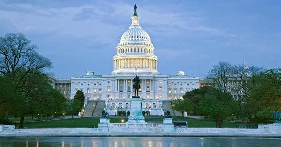 Exterior of the United States Capitol | Dennis Flaherty/Getty Images