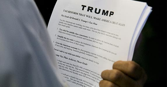 Hedge fund tax agreement   DOMINICK REUTER/Getty Images