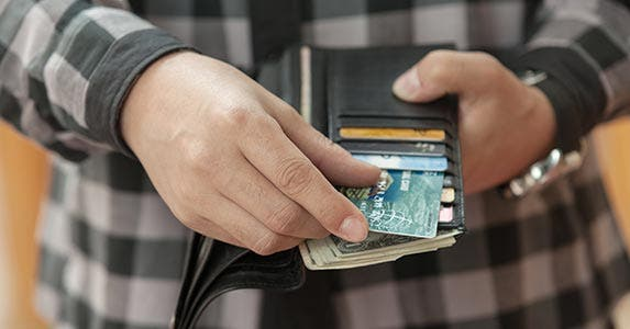 1. Picking the wrong credit card © Sergey Nepsha/Shutterstock.com