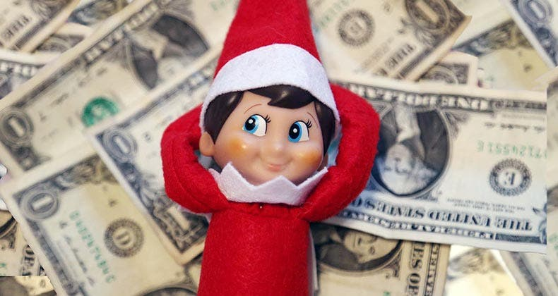 10 elf on the shelf ideas to help teach your kids about money
