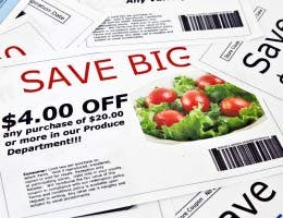 Find coupons, save money