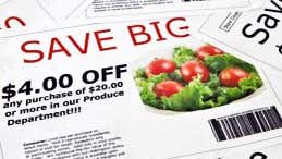 Find coupons and save beaucoup bucks