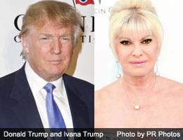 Donald and Ivana: Trumps are wild