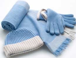 Winter clothes and household goods