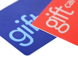 Know the different types of gift cards