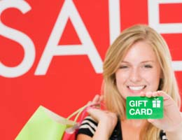 Pair your gift card with a coupon