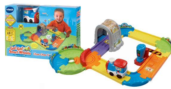 Go! Go! Smart Wheels Choo-Choo Train play set
