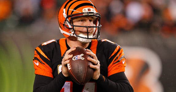 Andy Dalton © John Sommers/Icon Sportswire/Corbis