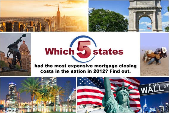 5 most expensive states