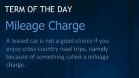 What is a mileage charge?