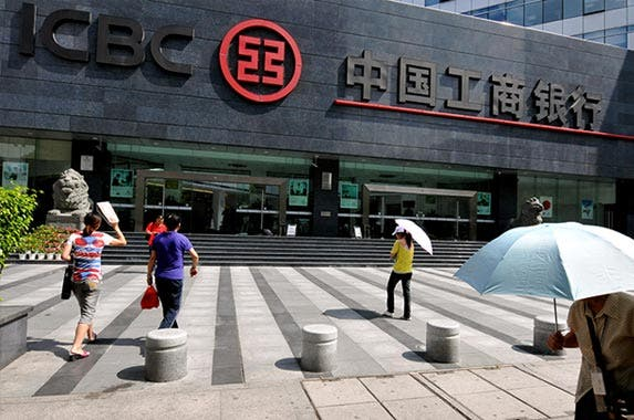 Industrial & Commercial Bank of China, or ICBC | ChinaFotoPress / Contributor/ChinaFotoPress/Getty Images